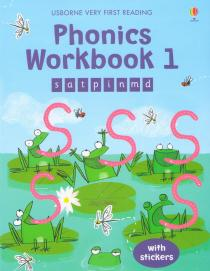 Phonics Workbook 1 with stickers