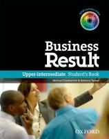 Business Result Upper-Intermediate Student's Book with DVD-ROM and Online Workbook