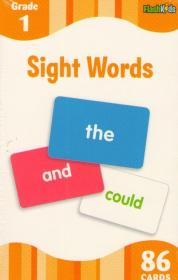 Sight Words. Flashcards (86 cards)