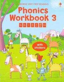 Phonics Workbook 3 with stickers