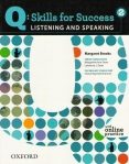 Q: Skills for Success 2. Listening and Speaking: Student's Book with online practice