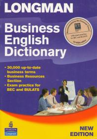Business English Dictionary New Edition + CD