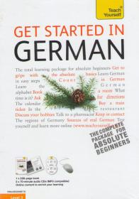 Get Started in German: Teach Yourself + CDs